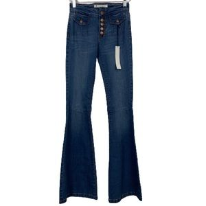 NWT House of Harlow 1960 Bell Bottom Flare Jeans